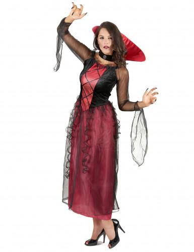 Vampirdame Kostüm-1