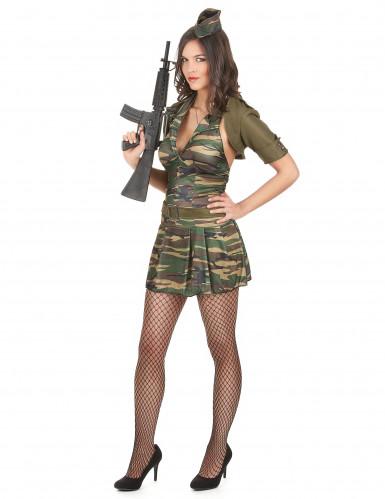 Militärkostüm Damen-1
