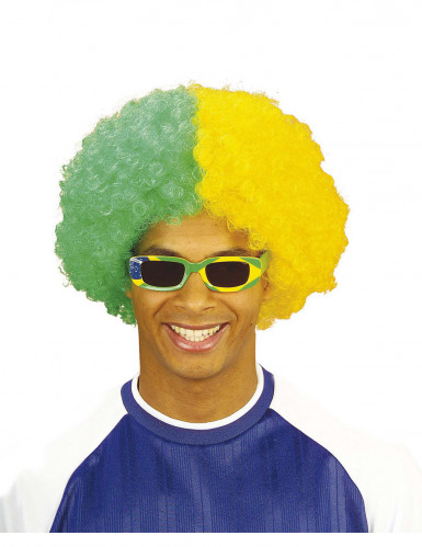 Brasilien Fan Perücke