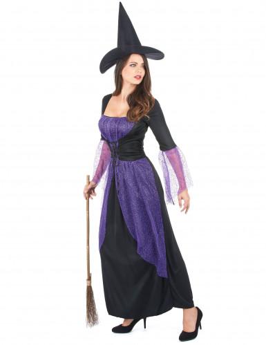 Hexenkostüm lila für Damen-1