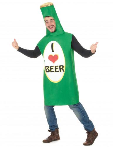 Bierflasche Kostüm für Erwachsene-1