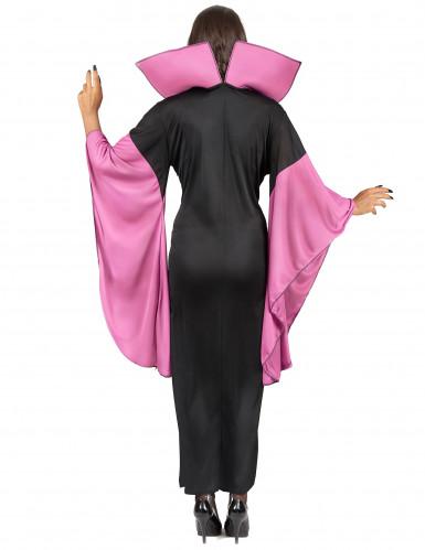 Spinnenköniginnen-Kostüm für Damen schwarz-pink-2