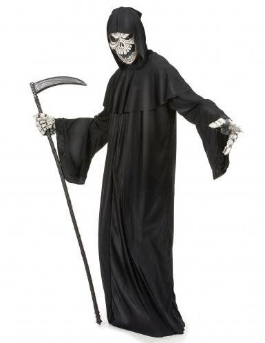 Henker Sensenmann Kostüm für Herren Halloween-1