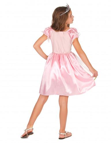 Prinzessinnen-Kostüm in Pink für Mädchen-2