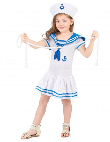 Matrose Kostüm für Mädchen-1