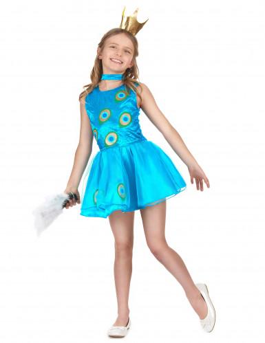 Pfau Kostümkleid für Mädchen