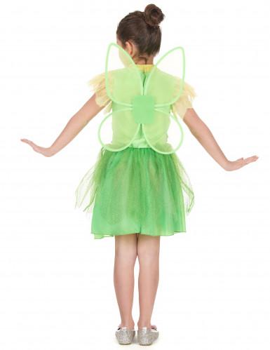 Grünes Fee Kostüm für Mädchen-2