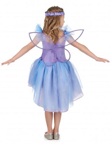 Lila Fee Kostüm für Mädchen-2