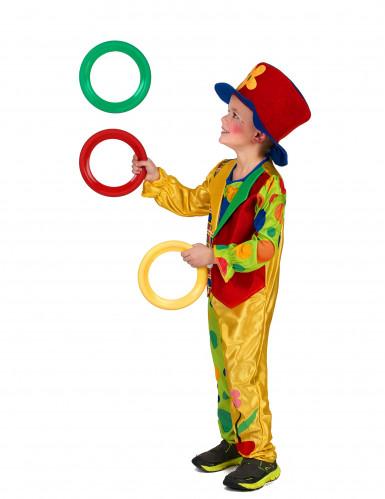Kinder Clownkostüm für Jungen bunt-1