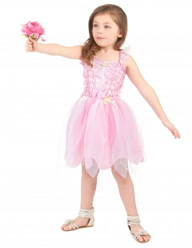 Rosa Prinzessin-Fee Kostüm für Mädchen-1