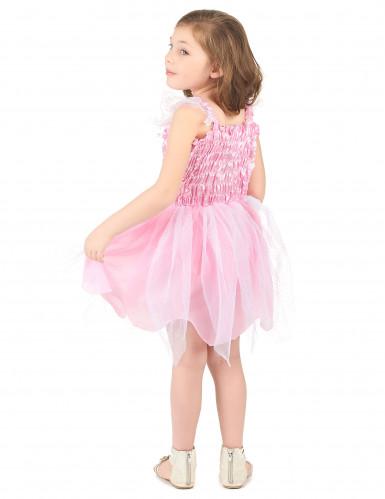 Rosa Prinzessin-Fee Kostüm für Mädchen-2