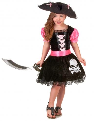 Girly Piratenkostüm für Mädchen