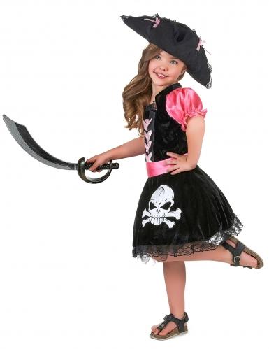 Girly Piratenkostüm für Mädchen-1