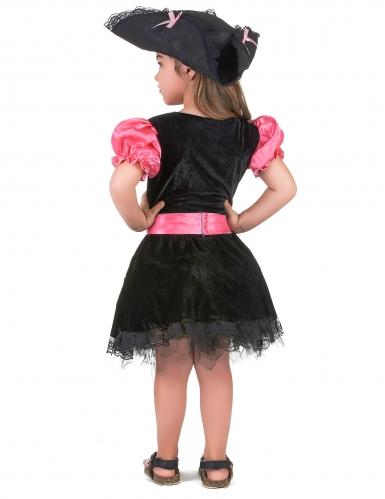 Girly Piratenkostüm für Mädchen-2