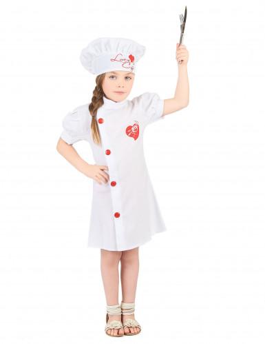 Chefkoch Kostüm für Mädchen