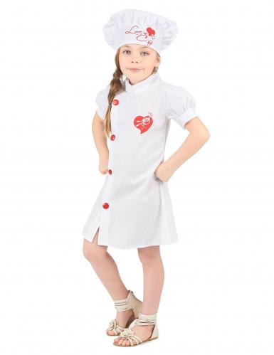 Chefkoch Kostüm für Mädchen-1