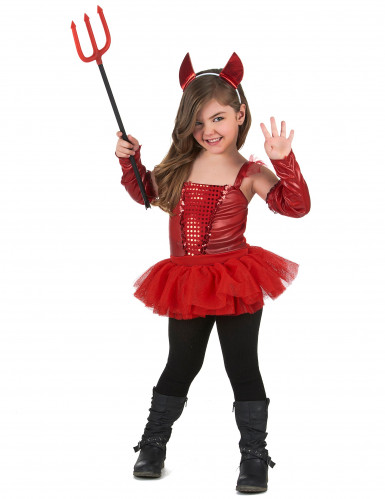Teufelin Kostüm für Mädchen-1