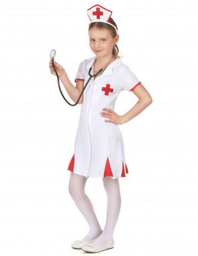 Krankenschwester Kostüm für Mädchen-1