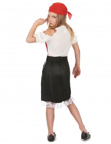 Piraten-Kostüm für Mädchen bunt-2