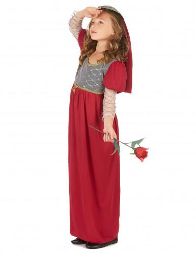 Mittelalter Kostüm für Mädchen-1