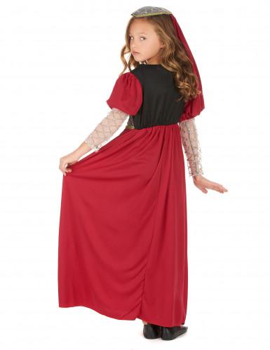 Mittelalter Kostüm für Mädchen-2