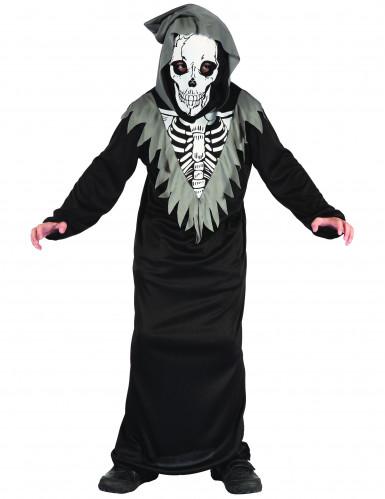 Henkerkostüm Skelett für Jungen