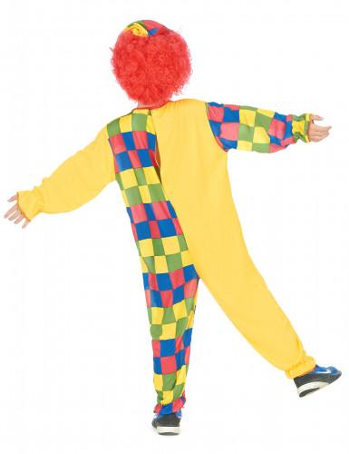 Clownskostüm-Overall für Jungen bunt-2