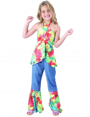 Retro Hippie Kostüm für Mädchen