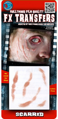 Geschwulst im Gesicht als Abziehbild mit Wasser Premium-1