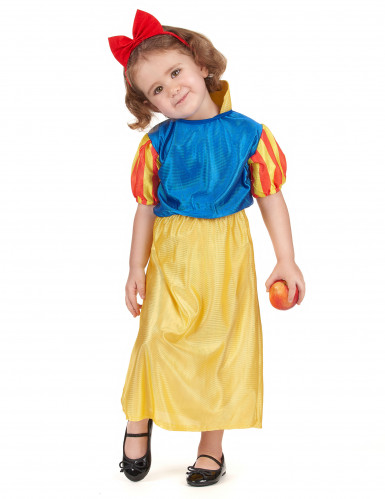Märchenprinzessin Kostüm in gelb und blau