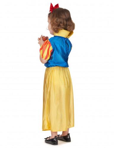 Märchenprinzessin Kostüm in gelb und blau-2