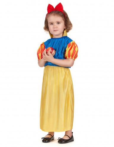 Märchenprinzessin Kostüm in gelb und blau-1