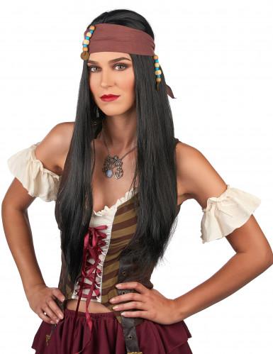Piraten Perücke Herren-1
