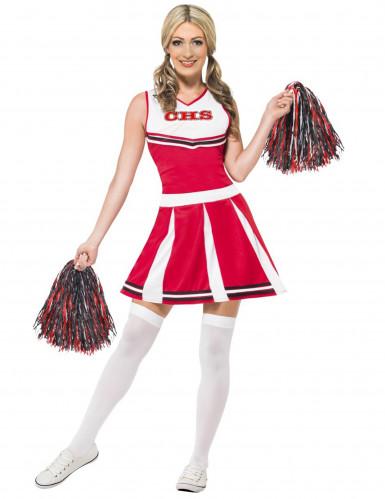 Cheerleaderin Kostüm für Damen
