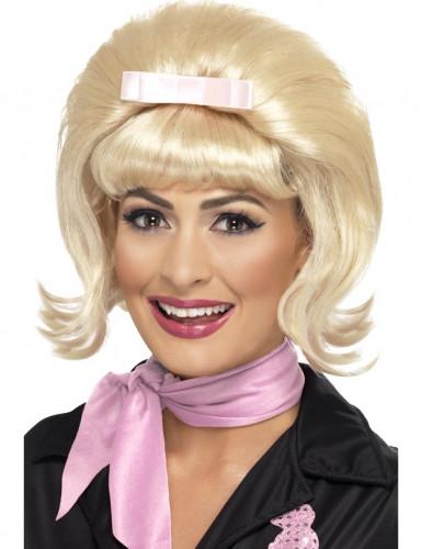 50er Jahre Perücke für Damen blond