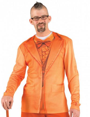 Oranges Kostüm T-Shirt für Erwachsene