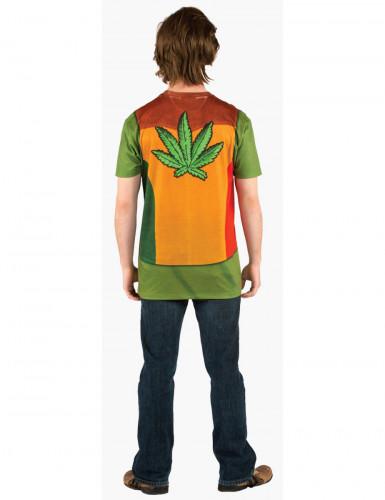 Hippie T-Shirt Cannabis für Herren-1
