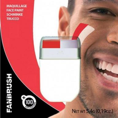 Make-up-Stick in Rot und Weiß 5,4g