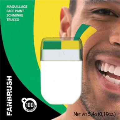 Make-up-Stick in Grün und Gelb
