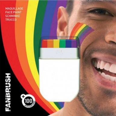 Make-up-Stick in Regenbogenfarben