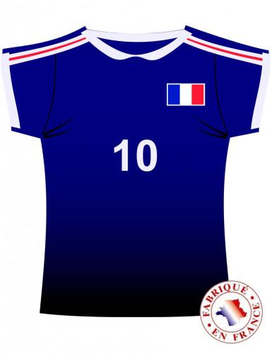 Frankreich Fußball T-shirt Wanddekoration