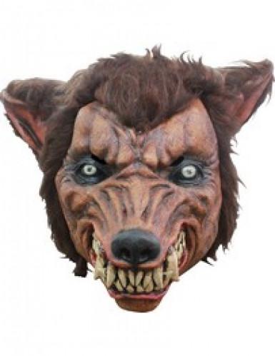 Maske 3/4 böser Wolf für Erwachsene