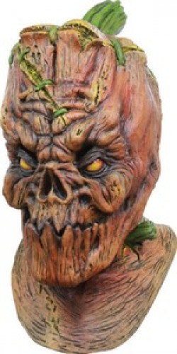 Maske Kürbis-Zombie