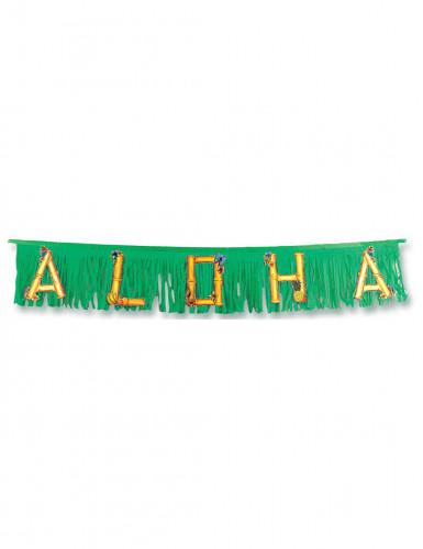 Grüne ALOHA-Girlande