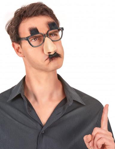 Brille mit Nase und Schnurrbart-1