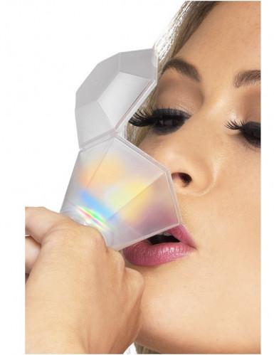 Leuchtender Ring und Trinkglas in einem (für Erwachsene)