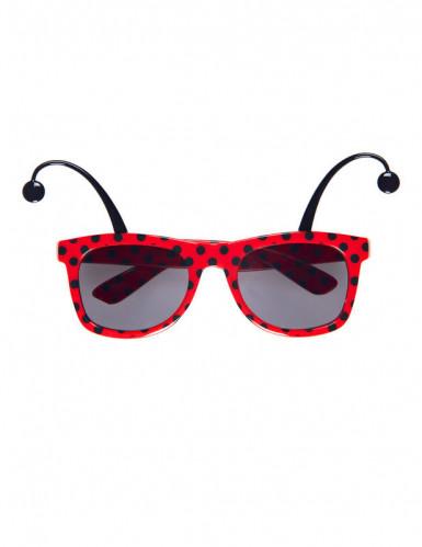 Brille Marienkäfer für Erwachsene-1