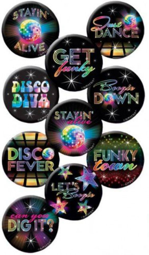 10 Disco Buttons