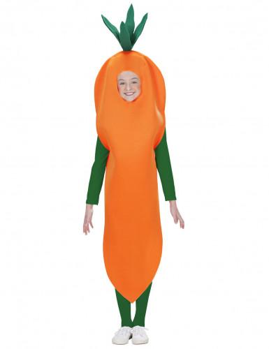 Karotte Kostüm für Kinder
