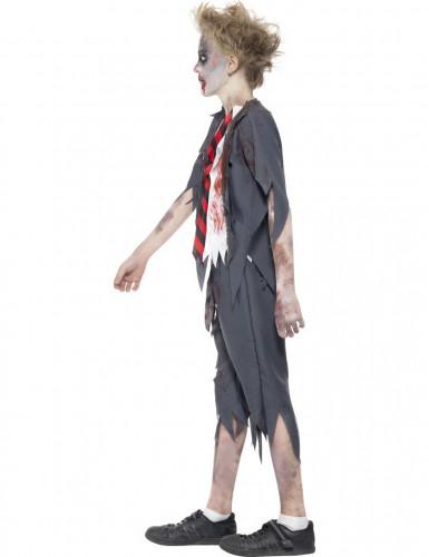 Schüler Zombie-Kostüm für Jungen Halloween -1